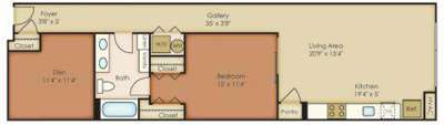 1 Bed - The Granary