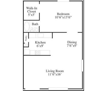 1 Bed - Shiloh Commons Apartments at 535 Williamsburg Drive in Belleville IL is a Apartment