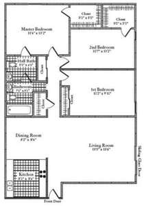 3 Beds - Florence Apartments