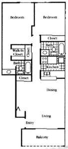 3 Beds - Sungate Apartments
