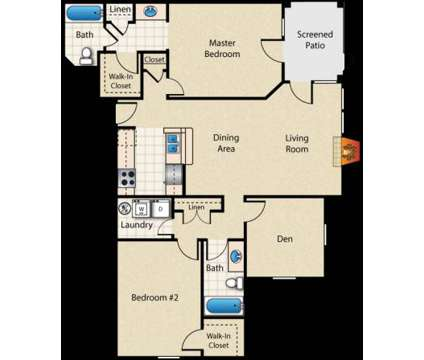 2 Beds - Bayview Club Apartment Homes at 7545 Bayview Club Drive in Indianapolis IN is a Apartment