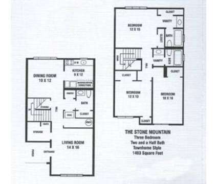 3 Beds - Hidden Woods at 4655 Glenwood Rd in Decatur GA is a Apartment