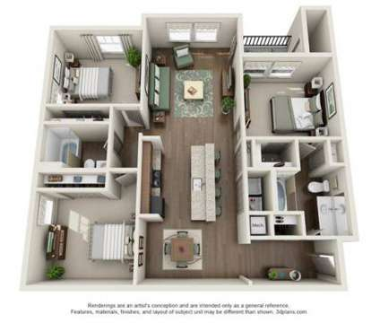 3 Beds - Watercourse Apartments at 1020 Watercourse Cir in Graham NC is a Apartment