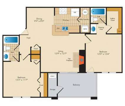 2 Beds - Crystal Park at Waterford at 100 Alessandra Ct in Frederick MD is a Apartment