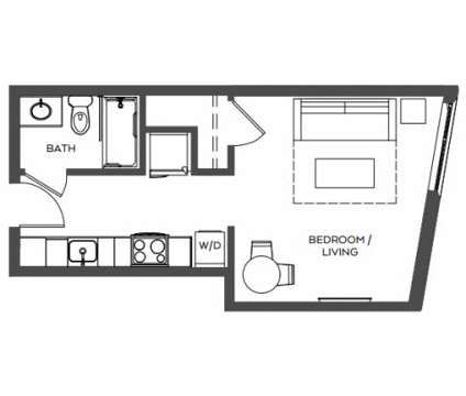 Studio - TreeHouse at 3440 Sw Us Veterans Hospital Road in Portland OR is a Apartment