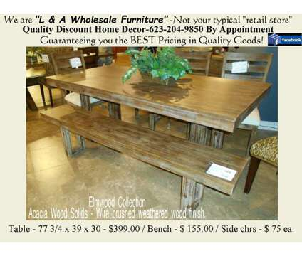 Solid Top All Wood Dining Room Table is a Sofas for Sale in Phoenix AZ