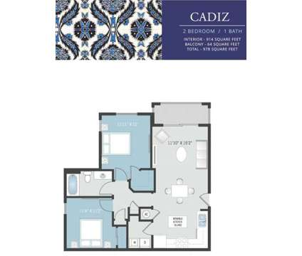 2 Beds - Solle Davie Luxury Apartments at 5500 South University Drive in Davie FL is a Apartment