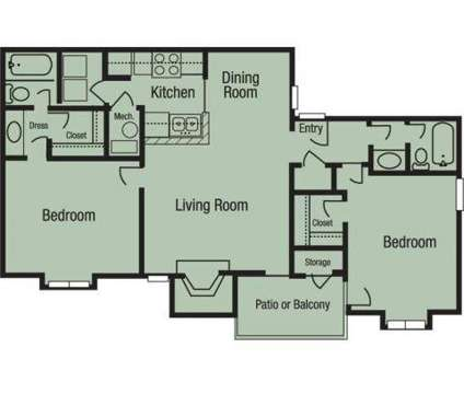 2 Beds - The Fields Peachtree Retreat at One Ashley Lakes Dr in Norcross GA is a Apartment