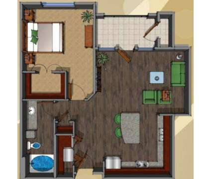 1 Bed - District at Westborough at 1550 Westborough Drive in Katy TX is a Apartment