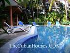 Travel to Cuba. Vacation Home in Havana. Three BR. Pool.