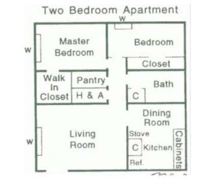 2 Beds - Briarcliff South at 3630 Rainey Road in Jackson MS is a Apartment