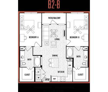 2 Beds - Domain at Columbia at 3100 East Stadium Blvd in Columbia MO is a Apartment