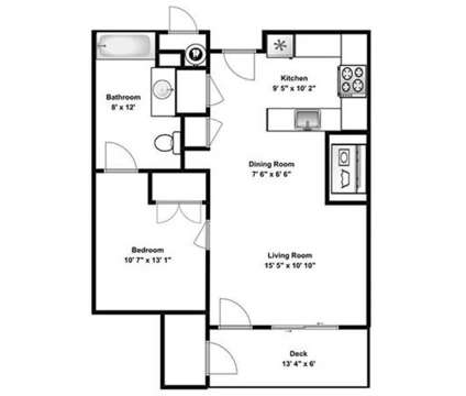 1 Bed - Grovecrest Villas at 488 West Center in Pleasant Grove UT is a Apartment