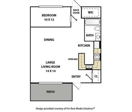 1 Bed - Americana Apartments at 1308  1312 34th St South in Birmingham AL is a Apartment