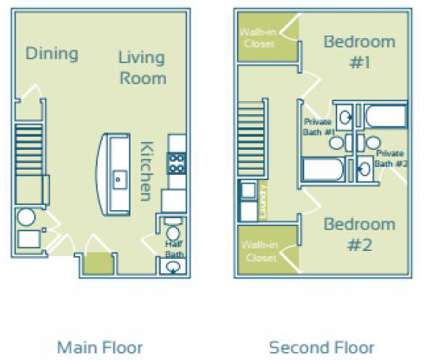 2 Beds - The Enclave at GVSU Student Living at 4926 Becker Dr in Allendale MI is a Apartment
