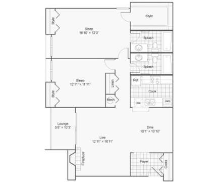 2 Beds - 100 Inverness Apartment Homes at 100 Inverness Ln in Birmingham AL is a Apartment