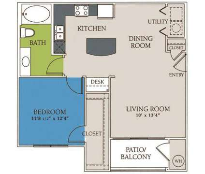 1 Bed - The Bridge at Center Ridge at 701 Center Ridge Drive in Austin TX is a Apartment
