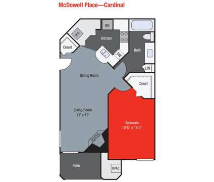 1 Bed - TGM McDowell Place at 1647 Westminster Drive in Naperville IL is a Apartment