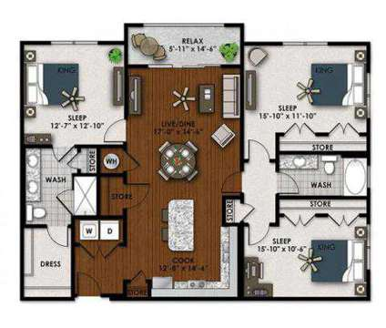 3 Beds - AMLI Sawgrass Village at 3001 Nw 130th Terrace in Fort Lauderdale FL is a Apartment