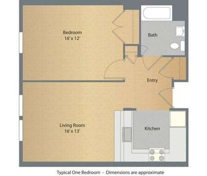 1 Bed - Brookview Commons at 30 Crosby St in Danbury CT is a Apartment