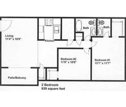 2 Beds - Palmer House at 3216-a Yanceyville St in Greensboro NC is a Apartment