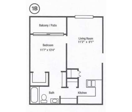 1 Bed - Williamsburg Suites & Garden at 220 Wilbur Drive Ne in North Canton OH is a Apartment