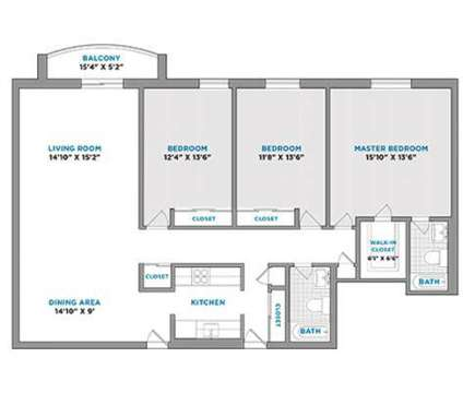 3 Beds - Altitude Apartments at 211 Kennedy Dr in Malden MA is a Apartment