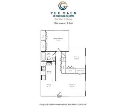 2 Beds - The Glen Apartments at 2609 Mangowood Rd in Chesterfield VA is a Apartment