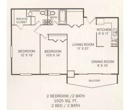 2 Beds - Southgate Towers Apartments at 5303 Northfield Rd in Bedford Heights OH is a Apartment