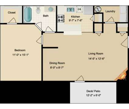1 Bed - Northridge at 33 Constellation Cir in Jackson TN is a Apartment