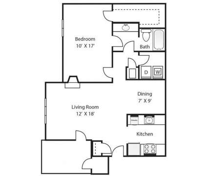 1 Bed - Pine Winds at 1301 Pinewinds Drive in Raleigh NC is a Apartment