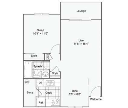 1 Bed - Miro at Dashpoint at 31004  19th Place S.w in Federal Way WA is a Apartment