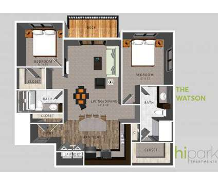 2 Beds - HiPark Apartments at 5265 Nw 12th St in Lincoln NE is a Apartment