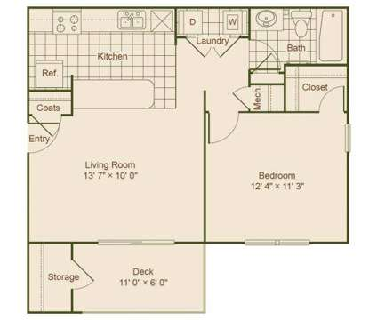 1 Bed - Sawgrass Cove at 4801 47th Ave in Bradenton FL is a Apartment