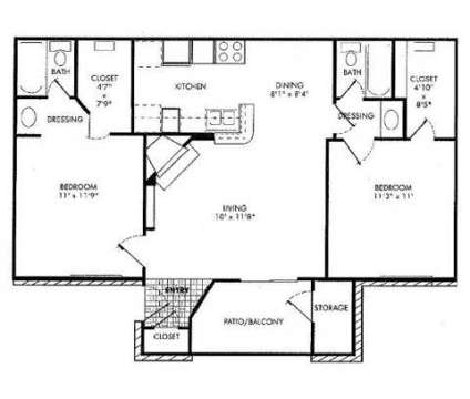 2 Beds - Monarch Medical Center at 8380 El Mundo in Houston TX is a Apartment