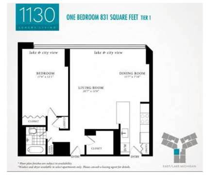1 Bed - 1130 South Michigan Avenue at 1130 South Michigan Ave in Chicago IL is a Apartment