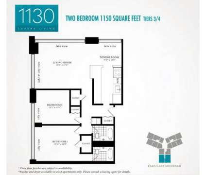 2 Beds - 1130 South Michigan Avenue at 1130 South Michigan Ave in Chicago IL is a Apartment