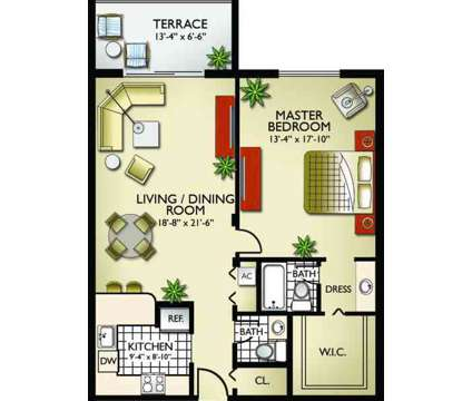 1 Bed - Royalton on the Green at 17350 Nw 68th Avenue in Miami FL is a Apartment