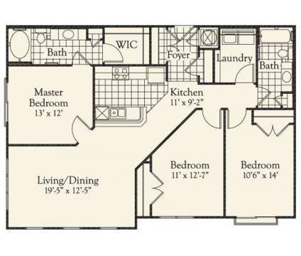 3 Beds - Ashley Square at SouthPark at 4845 Ashley Park Ln in Charlotte NC is a Apartment