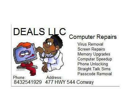Unlock + + flash all cell phones Conway Myrtle Beach 84356O9l74 the best is a Electronics Repair service in Conway SC