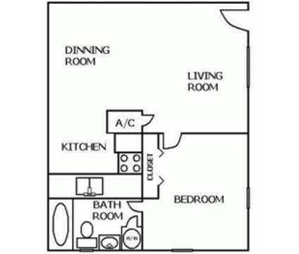 1 Bed - San Marco Village at 2166 Dunsford Terrace in Jacksonville FL is a Apartment