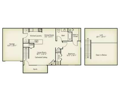 1 Bed - The Villas of Madison at 6724 Georgetown Ln in Madison OH is a Apartment