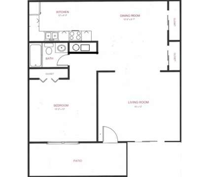 1 Bed - Crystal Lake Apartments at 128 W Woodstock St in Crystal Lake IL is a Apartment
