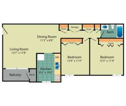 2 Beds - Westwinds at 1072 Redfield Ct in Frederick MD is a Apartment