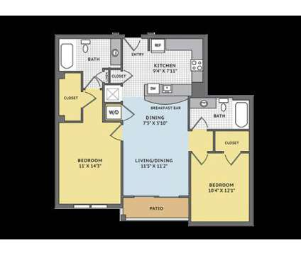 2 Beds - The Apartments at Cobblestone Square at 627 Cobblestone Cir in Fredericksburg VA is a Apartment