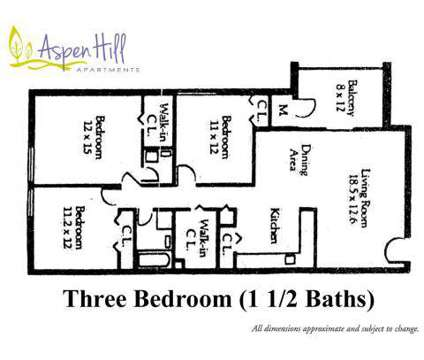 3 Beds - Aspen Hill at 13515 Georgia Avenue in Silver Spring MD is a Apartment