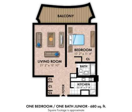 1 Bed - Towers of Windsor Park Apartment Homes at 3005 Chapel Avenue in Cherry Hill NJ is a Apartment