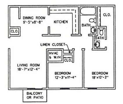 2 Beds - West Hills Village at 3100 Lake Brook Boulevard in Knoxville TN is a Apartment