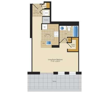 Studio - Avalon Clarendon at 2800 Clarendon Blvd in Arlington VA is a Apartment