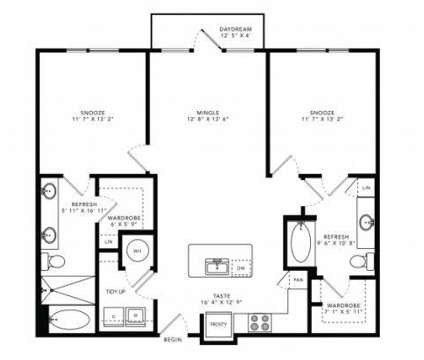 2 Beds - Alexan West Dallas at 604 Fort Worth Avenue in Dallas TX is a Apartment